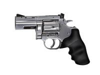 Dan Wesson 715 2.5 Pellet Revolver, Silver