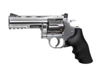 """Dan Wesson 715 4"""" Pellet Revolver, Silver"""