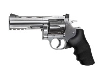 Dan Wesson 715 4 inch Pellet Revolver, Silver Air gun