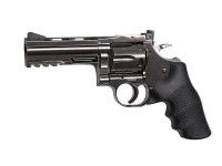 Dan Wesson 715 4 inch CO2 BB Revolver, Steel Grey Air gun
