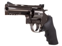 "Dan Wesson 715 4"" CO2 BB Revolver, Steel Grey"