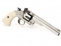 Texas Jack Schofield No. 3 Nickel BB Revolver Air gun
