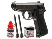 Umarex Walther Legends PPK/S Black BB Pistol Kit Air gun