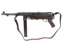 Legends MP40 BB Submachine Gun Weathered w/ Leather Strap Air gun