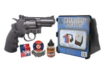Crosman SNR357 CO2 Dual Ammo Full Metal Revolver Kit Air gun
