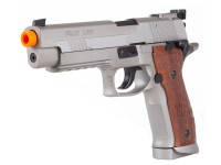 Colt SIG Sauer P226 X-FIVE Metal Co2 GBB Airsoft Pistol, Silver Air gun