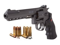 Crosman SR.357B  Dual Ammo CO2 Revolver Kit, Black
