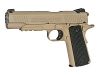 Swiss Arms SA 1911 MRP CO2 BB Pistol, Black Grips