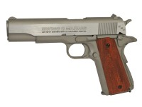 Swiss Arms SA 1911 SSP CO2 BB Pistol, Brown Grips Air gun