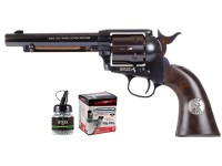 Colt John Wayne Super Blued CO2 BB Peacemaker Combo Air gun