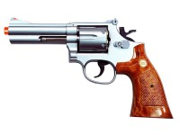 TSD UHC 134 revolver 4 inch, Silver Airsoft gun