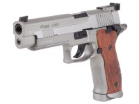 Palco Sports SIG Sauer P226 X-Five .177 CO2 Pistol, Silver/Wood Grips Air gun