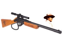 John Wayne Lil Duke BB Gun Rifle + Scope kit