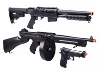 Crosman Game Face Triple Threat Airsoft Kit Airsoft gun