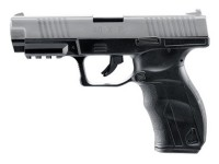Umarex 40XP CO2 BB Pistol, Metal Slide, Black W/Silver Slide Air gun