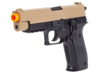 SIG Sauer P226 Airsoft Pistol, Black/Tan