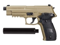 SIG Sauer P226 CO2 Pellet Pistol Suppressor Kit, Flat Dark E