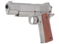 Crosman 1911 CO2 Pellet Pistol, Silver