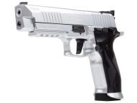 Sig Sauer X-Five ASP CO2 Pellet Pistol, Silver