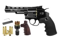 "Dan Wesson 4.5mm GNB CO2 4"" Dual Ammo, Dual Grip Revolver"