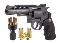 Ruger Superhawk Metal CO2 Dual Ammo, Revolver Kit Air gun