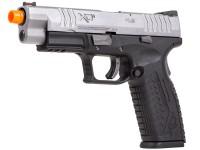 "Springfield Armory XDM 4.5"" GBB Airsoft Pistol, Bi-Tone"