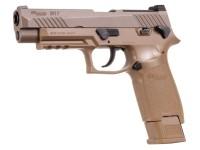 SIG Sauer Sig Sauer M17 P320 ASP, CO2 Pellet Pistol, Tan Air gun