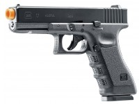 Glock G17 Gen3 CO2 Airsoft Pistol, Blowback w/ 2 Mags
