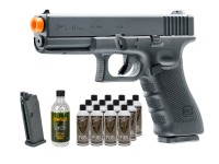 Umarex Elite Force Glock G17 Gen4 GBB Airsoft Pistol Kit
