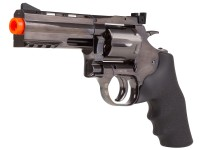 "Dan Wesson 715 4"" CO2 Airsoft Revolver, Steel Grey"