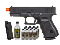 Umarex Elite Force Glock 19 Gen3 GBB Airsoft Pistol Kit