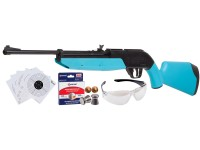 Crosman 760 Pumpmaster, Light Blue Stock