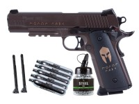 Sig Sauer 1911 Spartan Full Metal Blowback CO2 BB Pistol Kit