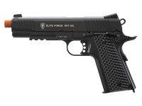 Elite Force 1911 CO2 TAC CO2 Airsoft Pistol, Black