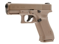 Glock 19X CO2 Blowback .177 BB Gun, Tan
