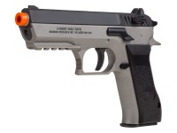 Jericho 941 Baby Desert Eagle Airsoft CO2 Pistol, Black/Gray