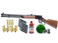 Umarex Legends Cowboy Lever Action Rifle Dual Ammo Kit