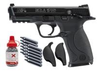 Smith & Wesson M&P 40 Blowback Pistol Kit, Black