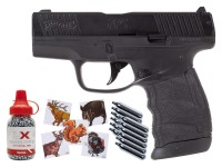 Walther PPS M2 Blowback Compact CO2 BB Air Pistol Kit