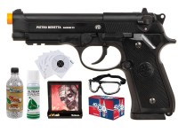 Beretta M92 A1 CO2 Airsoft Police Individual Training Bundle