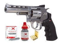 Umarex UX357 CO2 Metal Dual Ammo Revolver Kit