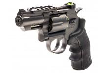 "Black Ops Exterminator Metal .177 2.5"" Revolver, Black"
