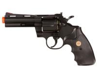 TSD 937 UHC 4 inch revolver, Black Airsoft gun
