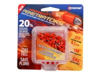 Crosman PowerShot Fast Flight Penetrator Pellets, .177 Cal, 5.4 Grains, Pointed, Lead-Free, 150ct