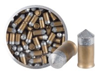 Crosman PowerShot Gold Flight Penetrator Pellets, .177 Cal, 8.5 Grains, Pointed, Lead-Free, 125ct