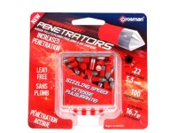 Crosman PowerShot Red Flight Penetrator Pellets, .22 Cal, 16.7 Grains, Lead-Free, 100ct