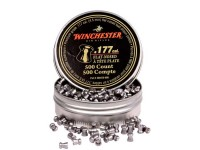 Winchester .177 Cal Pellets, 9.71 Grains, Flat Nose, 500ct