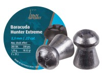 Haendler & Natermann H&N Baracuda Hunter Extreme Pellets, .22 Cal, 18.52 Grains, Hollowpoint, 200ct
