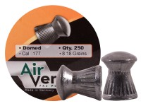 Air Venturi Pellets, .177 Cal, 8.18 Grains, Domed, 250ct