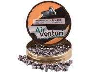 Air Venturi Pellets, .177 Cal, 7.48 Grains, Wadcutter, 250ct